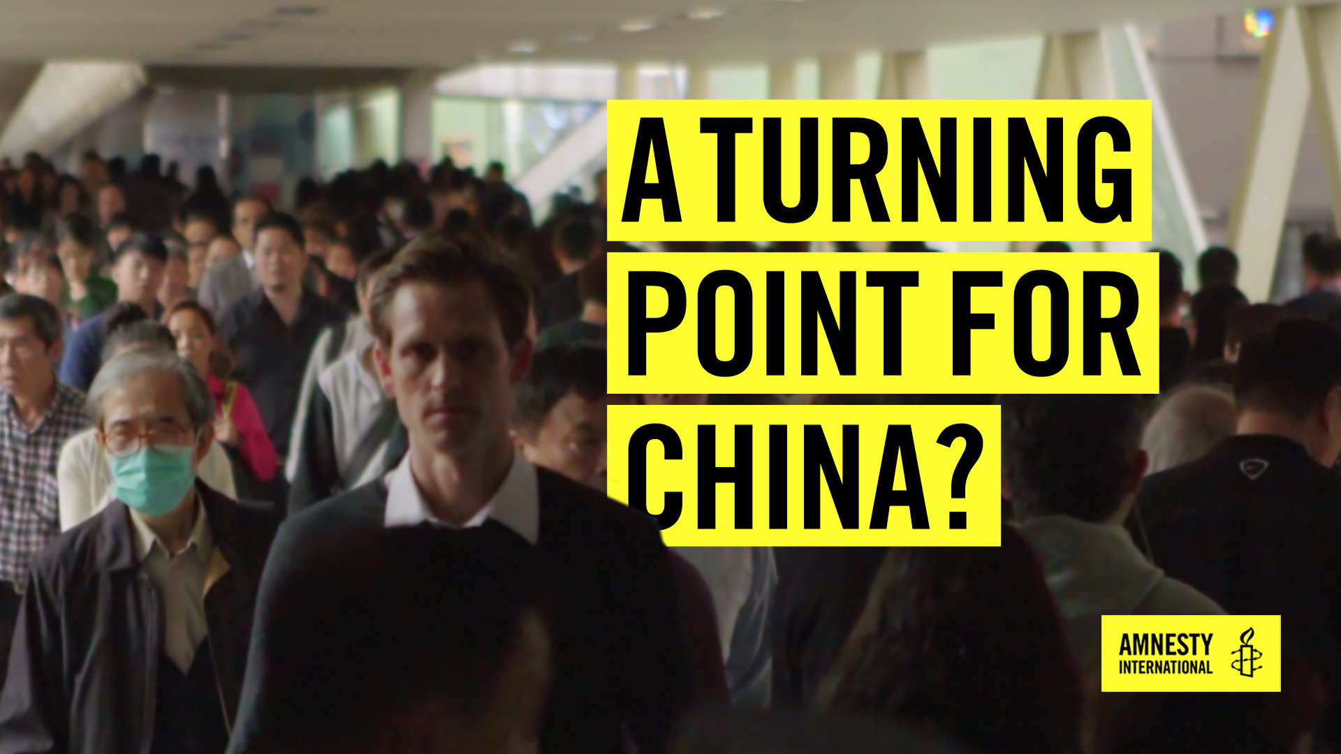 'A turning point for China?'-Film Cover